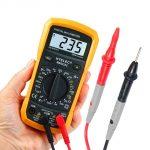 Как прозвонить цепь тестером или мультиметром