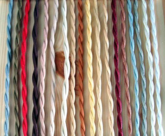 Цвета плетёной проводов