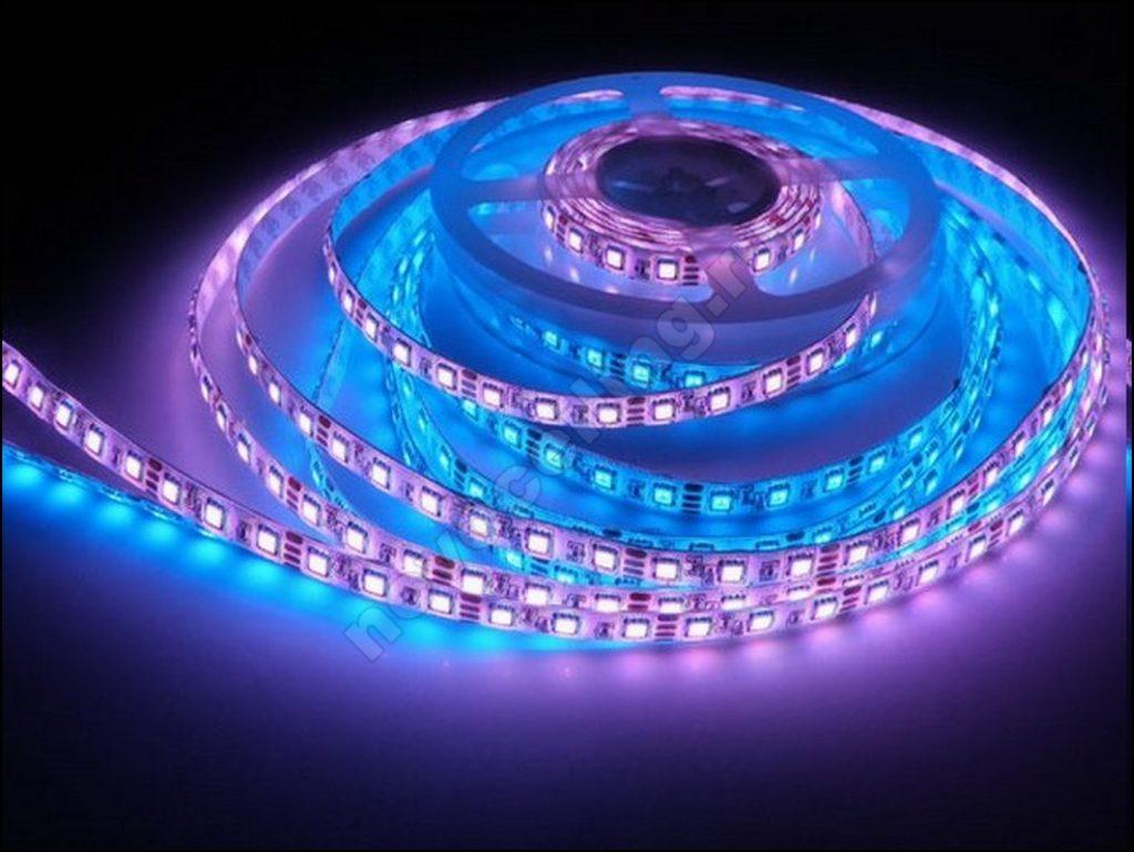 Все возможные схемы подключения светодиодной ленты