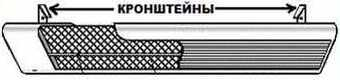 установка инфракрасного обогревателя