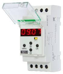 Электронное реле времени (схема подключения)