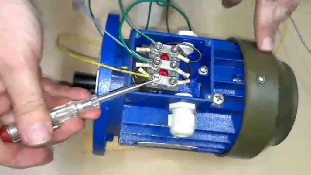Подключения трёхфазного двигателя