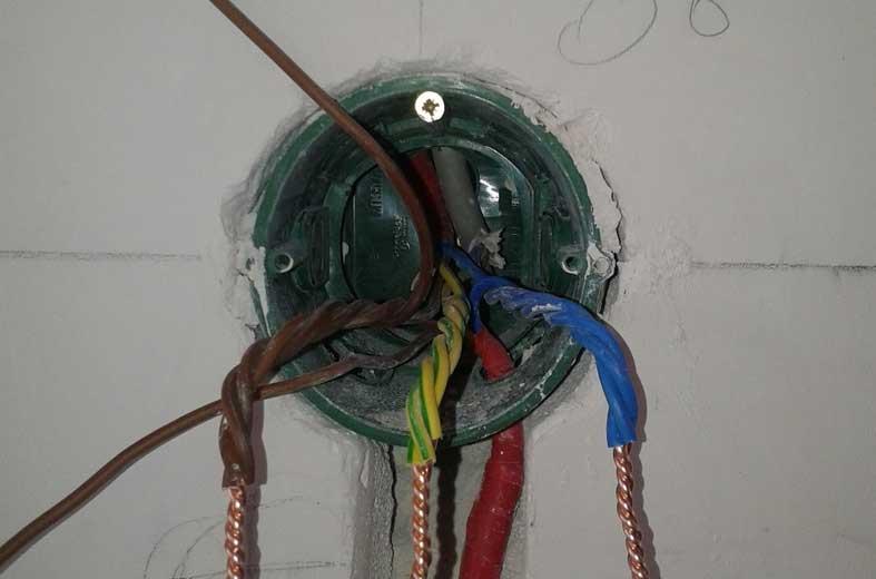 расключение электропроводки