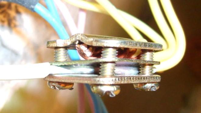 Соединение проводов